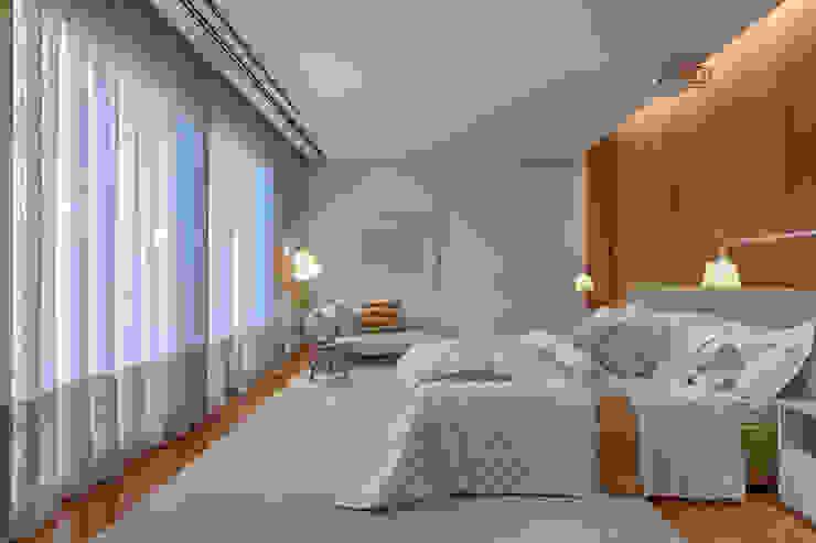 Habitaciones de estilo  por Bruna Figueiredo Arquitetura e Interiores