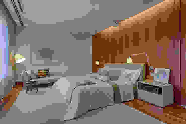 Vila Alpina II Quartos modernos por Bruna Figueiredo Arquitetura e Interiores Moderno