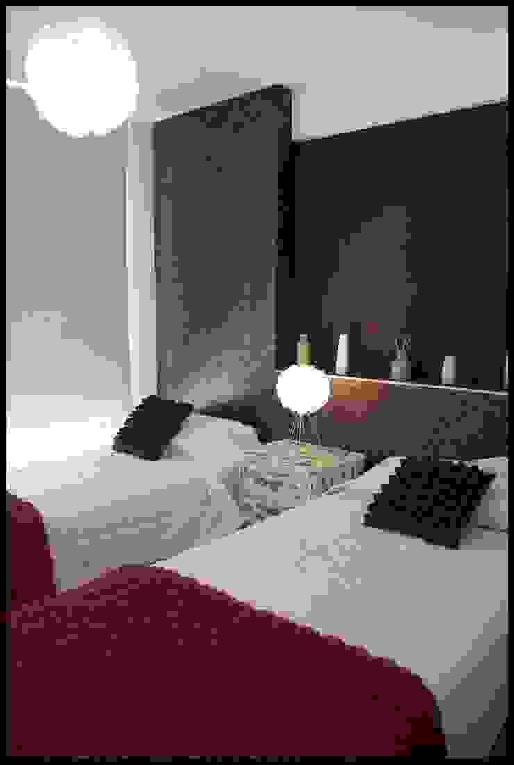Спальня в эклектичном стиле от Diseñadora Lucia Casanova Эклектичный