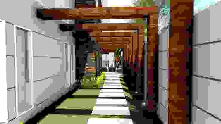 Vườn phong cách hiện đại bởi Studio² Hiện đại