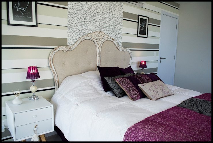 Diseño de Autor: Dormitorios de estilo  por Diseñadora Lucia Casanova