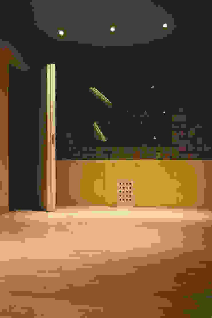 Interior Oficinas y comercios de estilo minimalista de MLL arquitecta Minimalista Piedra