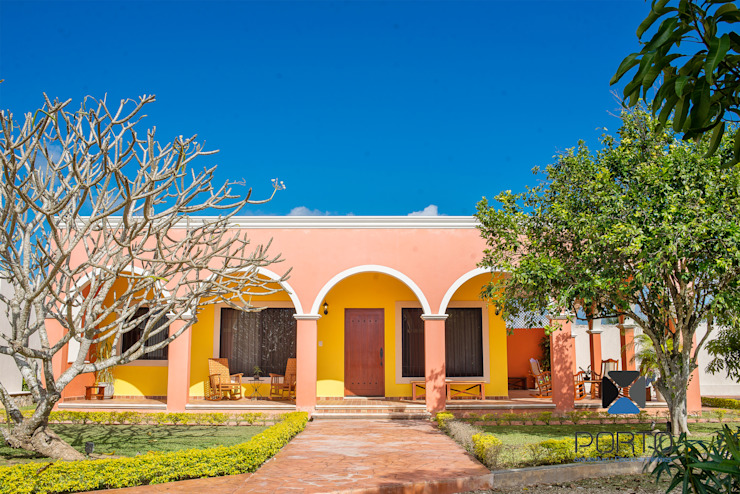 Casas coloniais por PORTO Arquitectura + Diseño de Interiores Colonial