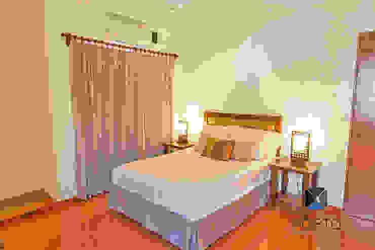 식민지스타일 침실 by PORTO Arquitectura + Diseño de Interiores 콜로니얼 (Colonial)