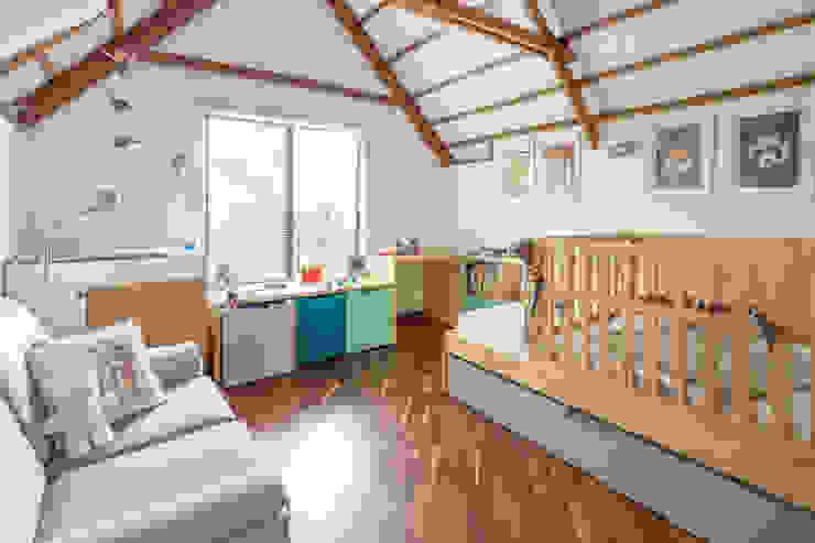 Habitación La Casa de nomo mobiliario Moderno Madera Acabado en madera