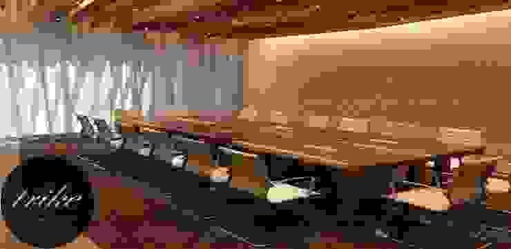 Mesa sala de Juntas Madera de Trike Interiorismo Moderno Madera Acabado en madera