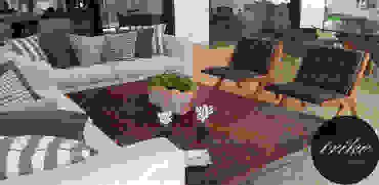 Mesa de centro madera de Trike Interiorismo Clásico Madera Acabado en madera