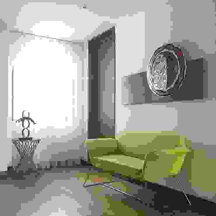 Hall Salas de estilo minimalista de ea interiorismo Minimalista