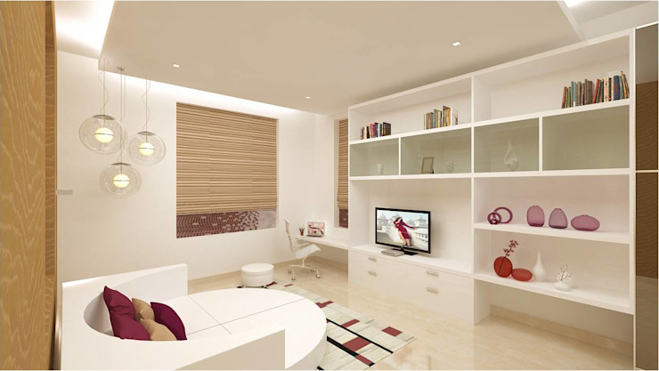 Modern nursery/kids room by homify Modern Plywood