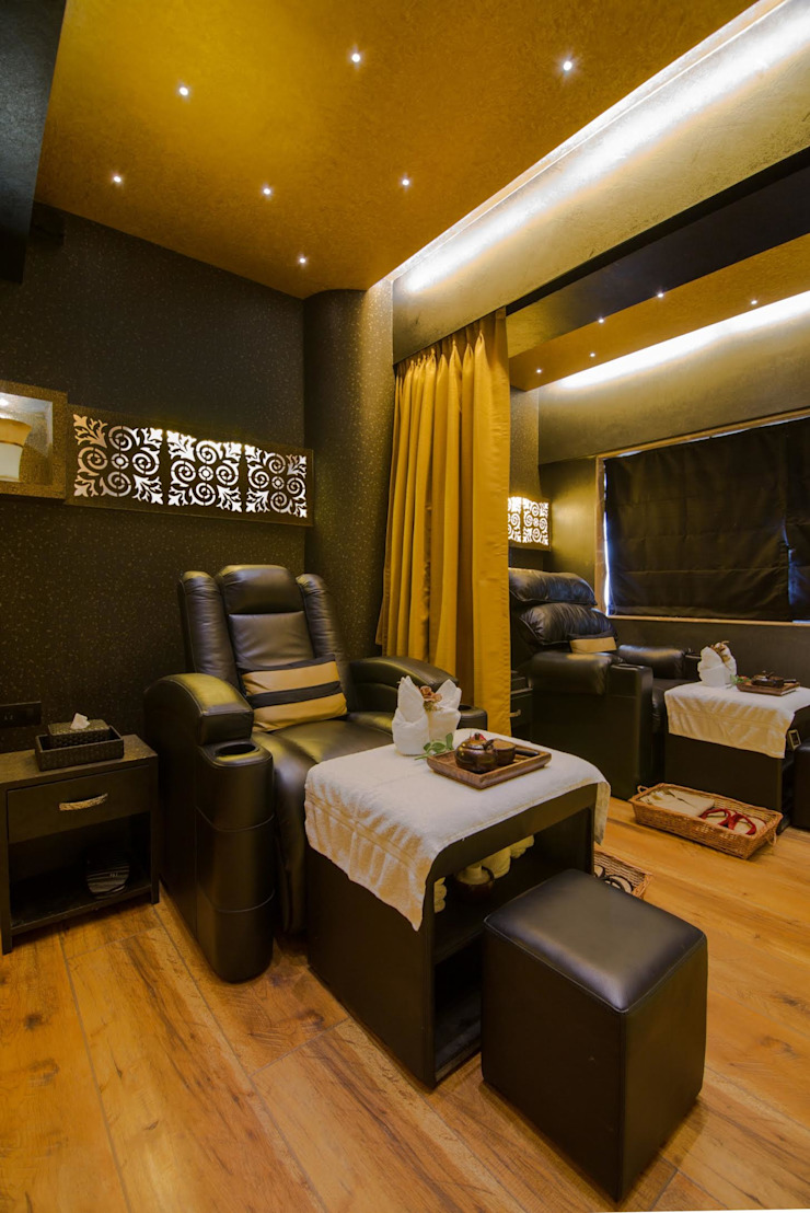 spa & wellness centre by Ishita Joshi Designs - Love Living! Modern