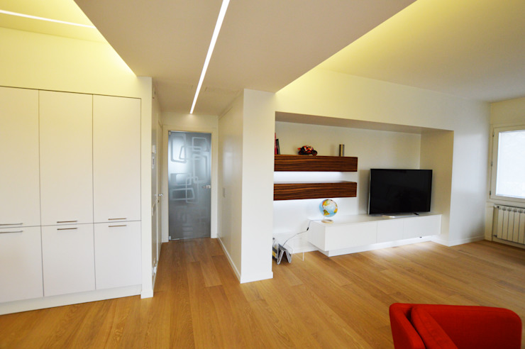 SLP arch Ruang Keluarga Modern