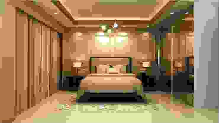 MANTRI ESPANA, BANGALORE. (www.depanache.in) Classic style bedroom by De Panache - Interior Architects Classic