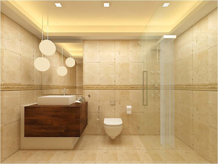 MANTRI ESPANA, BANGALORE. (www.depanache.in) Classic style bathroom by De Panache - Interior Architects Classic