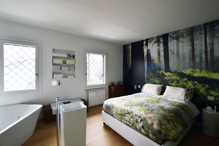 SLP arch Modern Bedroom