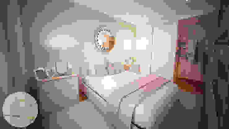 Dormitorios de estilo  por Andreia Louraço - Designer de Interiores (Contacto: atelier.andreialouraco@gmail.com), Moderno