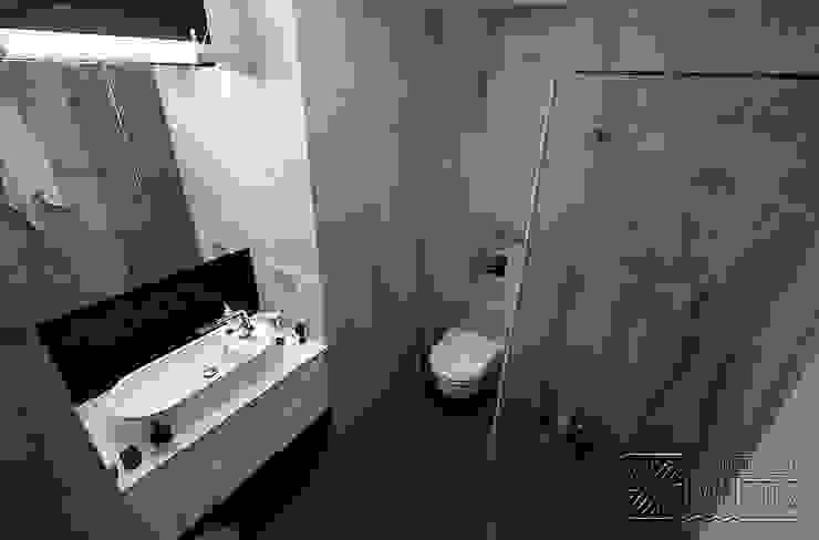 Komfortowe studio: styl , w kategorii Łazienka zaprojektowany przez Koncepcja Wnętrz ,Nowoczesny