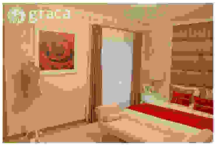 클래식스타일 침실 by Andreia Louraço - Designer de Interiores (Contacto: atelier.andreialouraco@gmail.com) 클래식