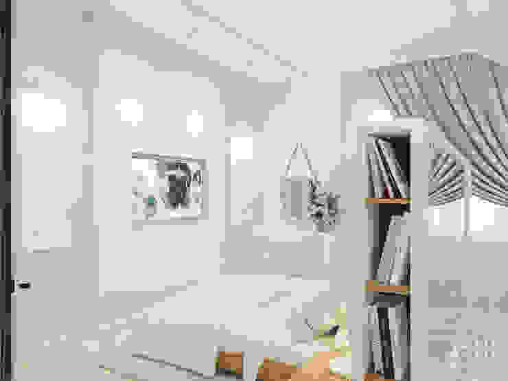 Dormitorios de estilo ecléctico de Студия авторского дизайна ASHE Home Ecléctico
