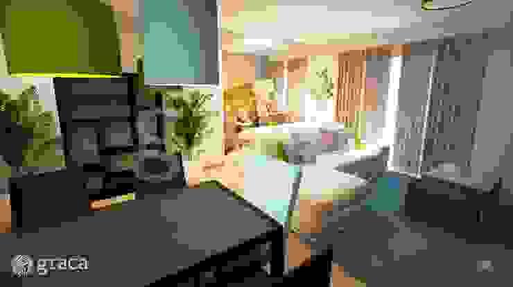 Salon original par Andreia Louraço - Designer de Interiores (Contacto: atelier.andreialouraco@gmail.com) Éclectique