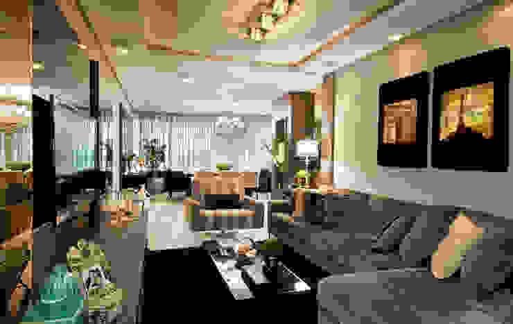 Гостиная в стиле модерн от SoHo arquitetura Модерн