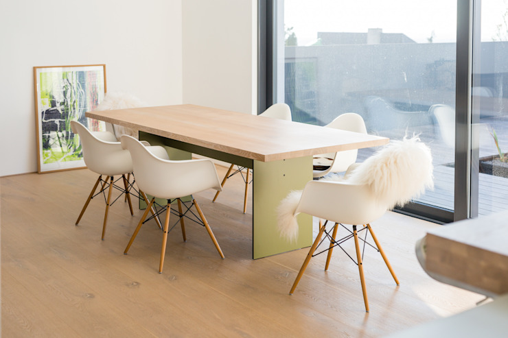 Helwig Haus und Raum Planungs GmbH Dining roomChairs & benches