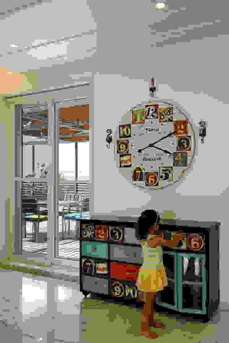 Nikhil patel residence Modern nursery/kids room by Dipen Gada & Associates Modern
