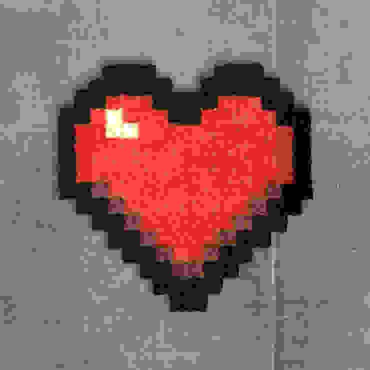 Tapis Pixel Art Love 16x16px автор Le Marcassin Ailé