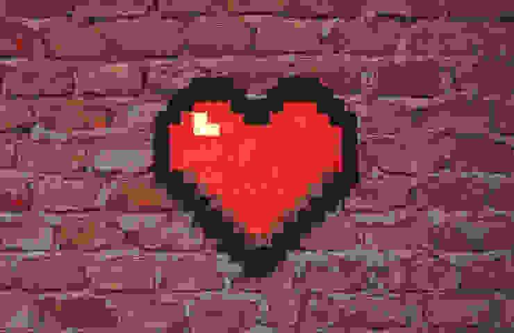 Tapis Pixel Art Love 16x16px Par Le Marcassin Ailé Homify