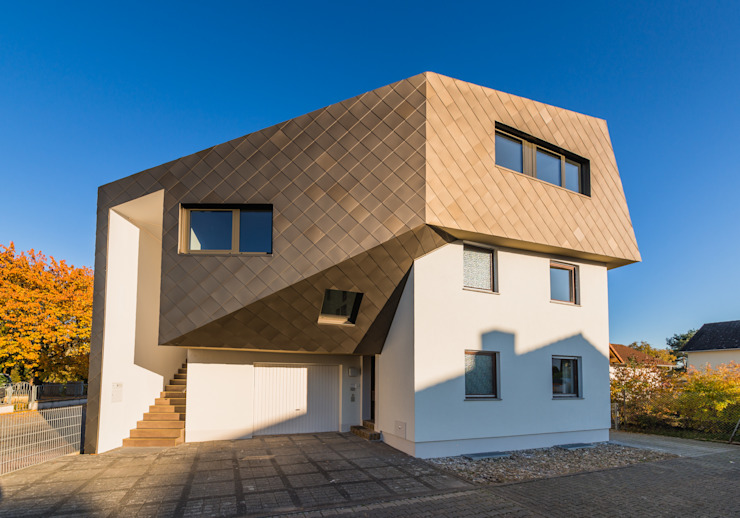 Eclectic style houses by Helwig Haus und Raum Planungs GmbH Eclectic