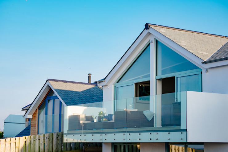 Tregoose, Polzeath Modern houses by The Bazeley Partnership Modern
