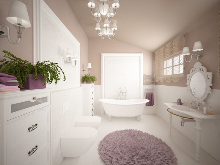 Bathroom by homify, Classic