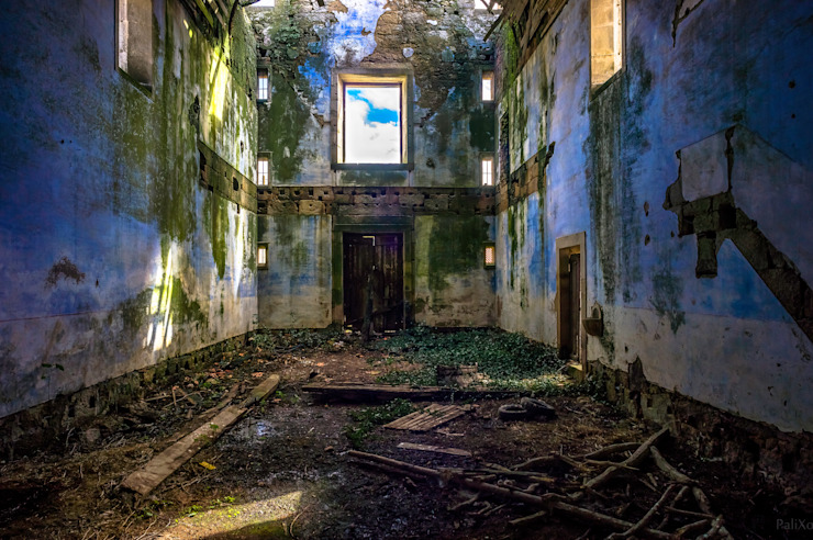 Fenêtres & Portes rustiques par David Bilo | Arquitecto Rustique Pierre