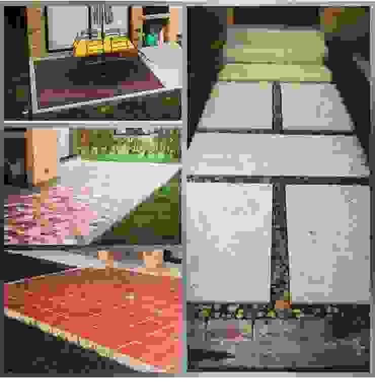 Ejemplos de proyectos Jardines de estilo moderno de MC Soluciones Y Construcciones Moderno
