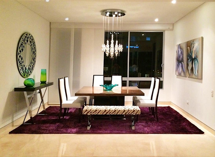 Modern dining room by DISEÑO INTERIOR LTDA Modern