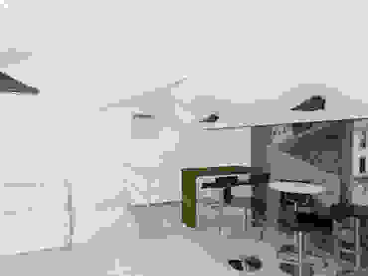 Proyecto Casa Chicó Comedores de estilo moderno de ARQFACTORY FIRMA DE ARQUITECTURA Moderno