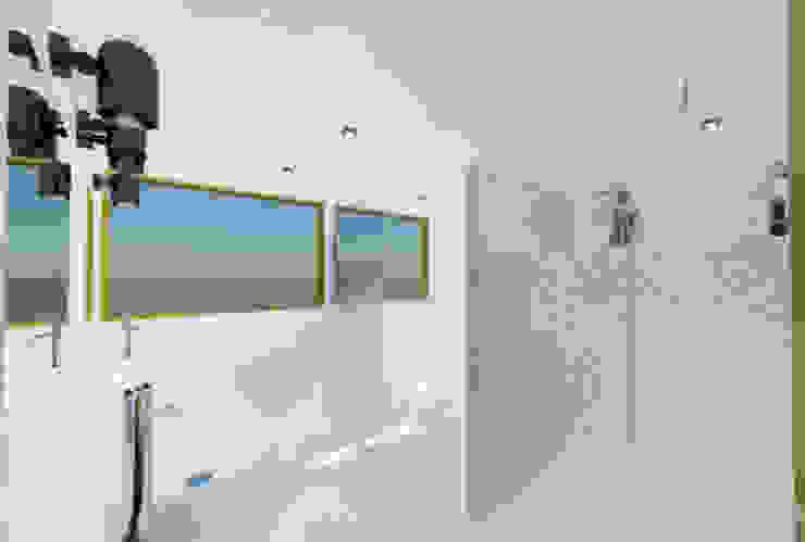 Proyecto Casa Chicó Baños de estilo moderno de ARQFACTORY FIRMA DE ARQUITECTURA Moderno