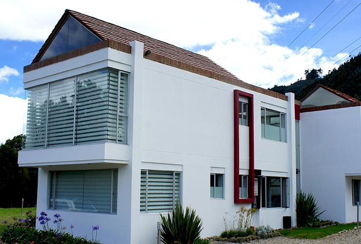 Houses by AV arquitectos, Modern Concrete
