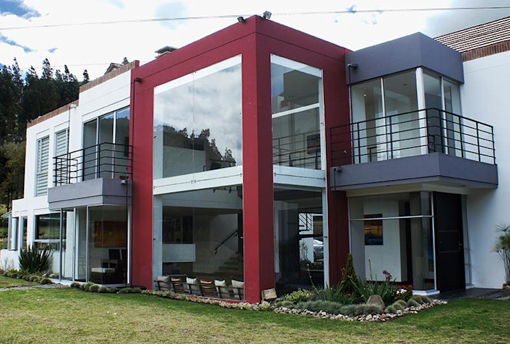 Casas modernas por AV arquitectos Moderno Concreto