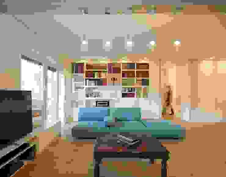Trastevere House Arabella Rocca Architettura e Design Soggiorno minimalista