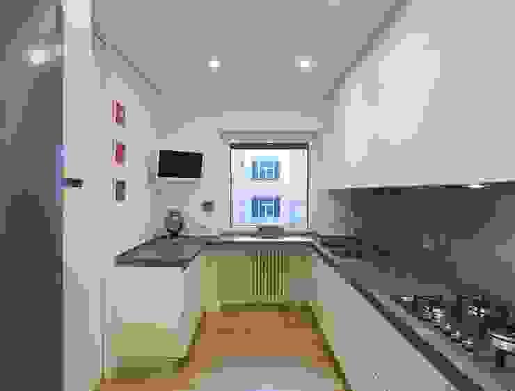 Trastevere House Arabella Rocca Architettura e Design Cucina minimalista