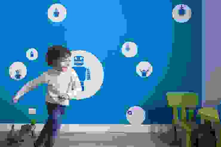 Trastevere House Arabella Rocca Architettura e Design Stanza dei bambini minimalista
