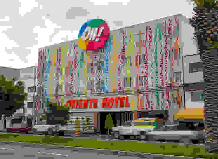 Hotel Oriente OH! Casas modernas de DIN Interiorismo Moderno