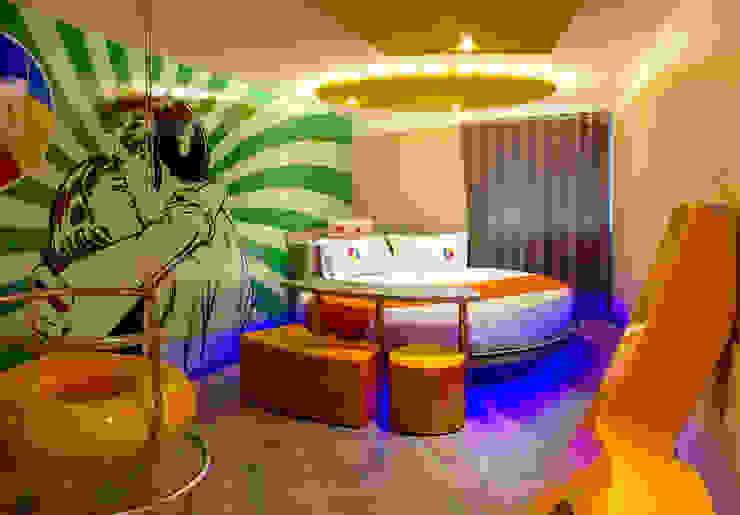 Hotel Oriente OH! Dormitorios modernos de DIN Interiorismo Moderno