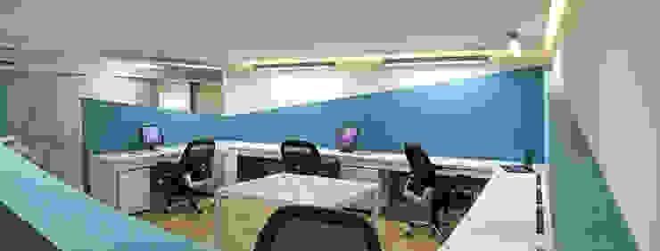 Morales Heyser & Asociados Estudios y despachos modernos de DIN Interiorismo Moderno