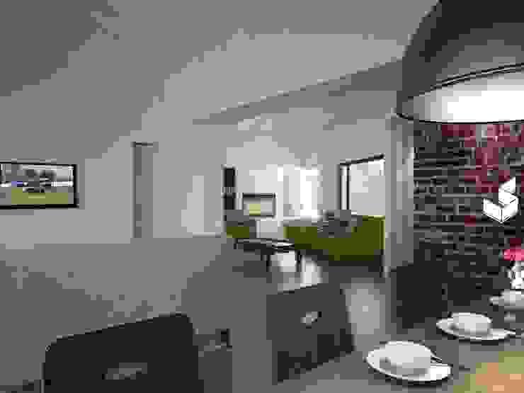 Comedor Livings modernos: Ideas, imágenes y decoración de Ignacio Tolosa Arquitectura Moderno Cerámico