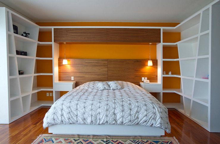 Modern style bedroom by DIN Interiorismo Modern