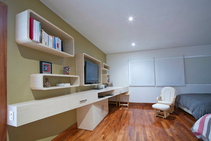 Casa Aport Dormitorios infantiles modernos de DIN Interiorismo Moderno