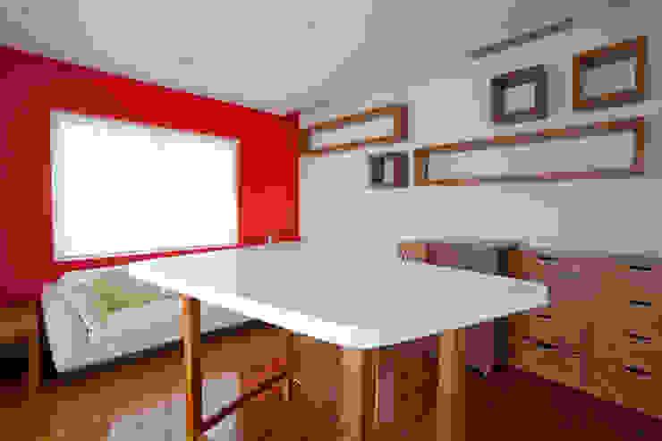 Casa Aport Estudios y despachos modernos de DIN Interiorismo Moderno