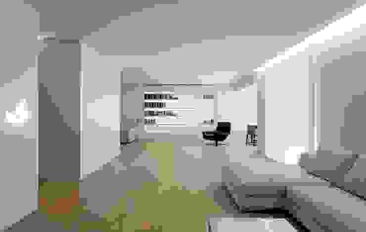 Remodelación Living Livings modernos: Ideas, imágenes y decoración de Ignacio Tolosa Arquitectura Moderno