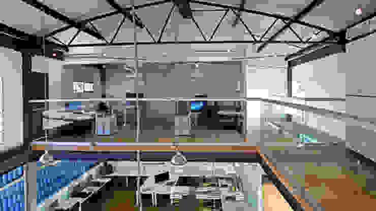 Canal 22 Estudios y despachos modernos de DIN Interiorismo Moderno